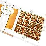 Ghasitaram Gifts Diwali Gifts Sweets - Sugarfree Healthy Energy Cereal/ Seeds Khajoor Bites