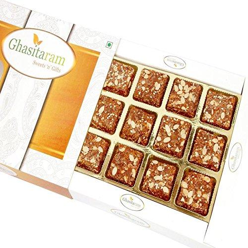 Ghasitaram Gifts Diwali Gifts Sweets - Sugarfree Healthy Energy Cereal/ Seeds Khajoor Bites by Ghasitaram Gifts