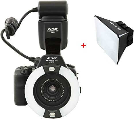 Viltrox JY-670C E-TTL Flash anular macro anillo de luz de Flash ...