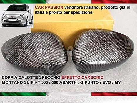 COPPIA CALOTTE SPECCHIO DESTRA SINISTRA NERA DAL 2005 AL 2009