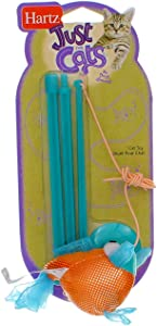 Hartz At Play Cat Toy, Gone Fishin',1 toy, Color May Vary (Set of 3)