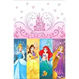 Disney Princess 'Dream Big' Plastic Table Cover (1ct)