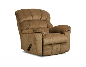 Simmons Upholstery U558-19 Victor Amber Rocker Recliner  sc 1 st  Amazon.com : recliner upholstery - islam-shia.org