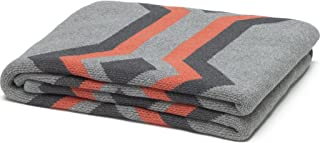product image for in2green Serape Eco Throw - Aluminum/Smoke/Coral