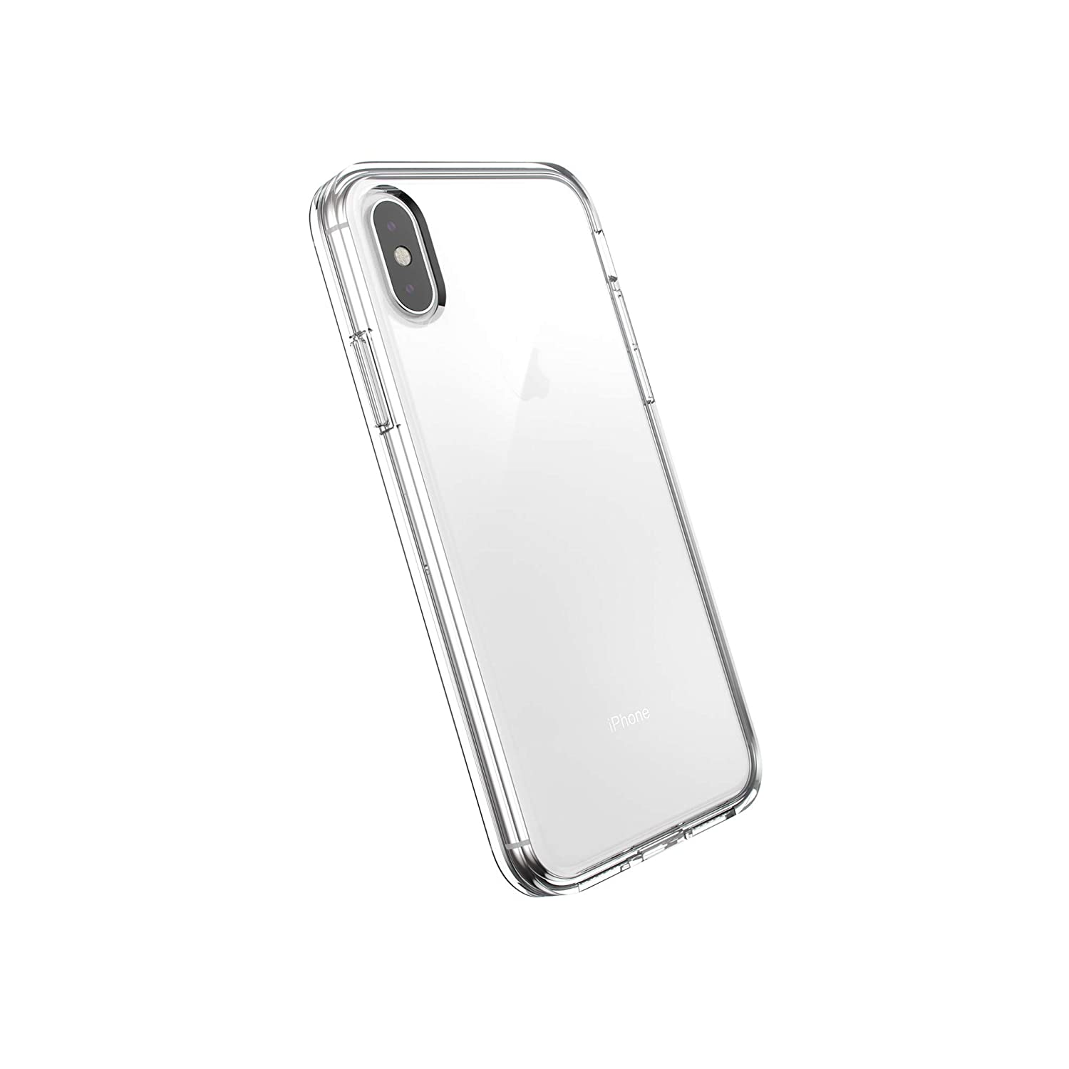 AmazonBasics Slim Case for iPhone XS, iPhone X, Clear