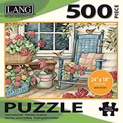 Jigsaw Puzzle 500 Pieces 24x18 Rocking Chair