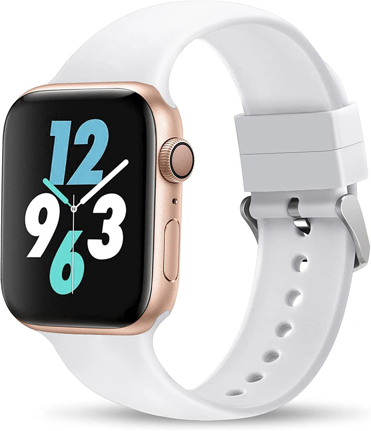 THWALK Sport Band Compatible with Apple Watch 38/40mm 42/44mm for Men/Women Waterproof Bands Replacement Strap Accessories for iWatch Apple Watch SE Series 6/5/4/3/2/1