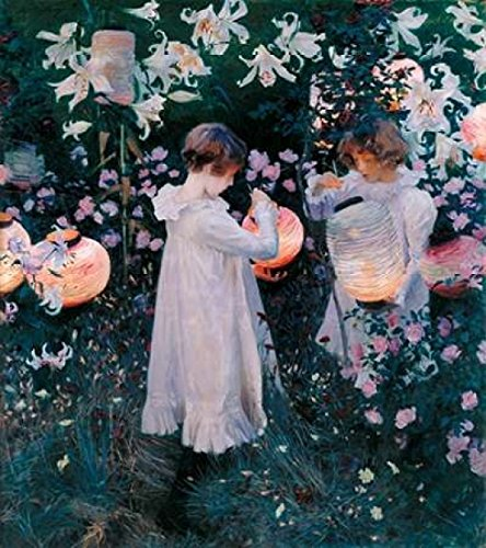 Carnation Lily Lily Rose 1885 Poster Print by John Singer Sargent (12 x ()