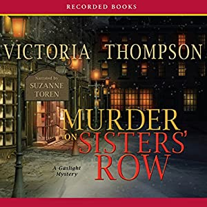 Murder on Sister's Row Audiobook