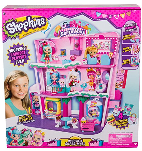 Shopkins Shoppies Shopville Super Mall