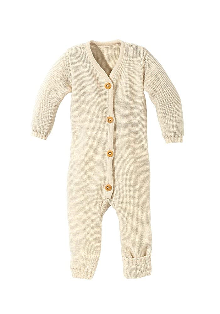 Disana 100/% Organic Merino Wool Knitted Overall Romper Made in Germany