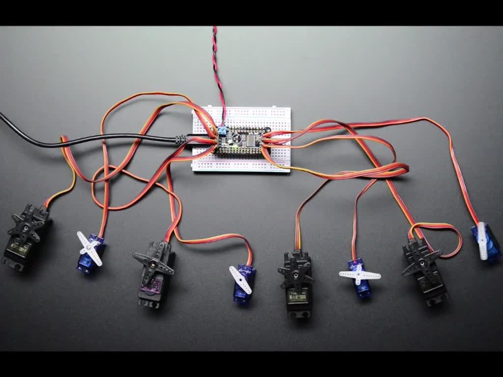 Adafruit LED Lighting Development Tools 8-Channel PWM or Ser