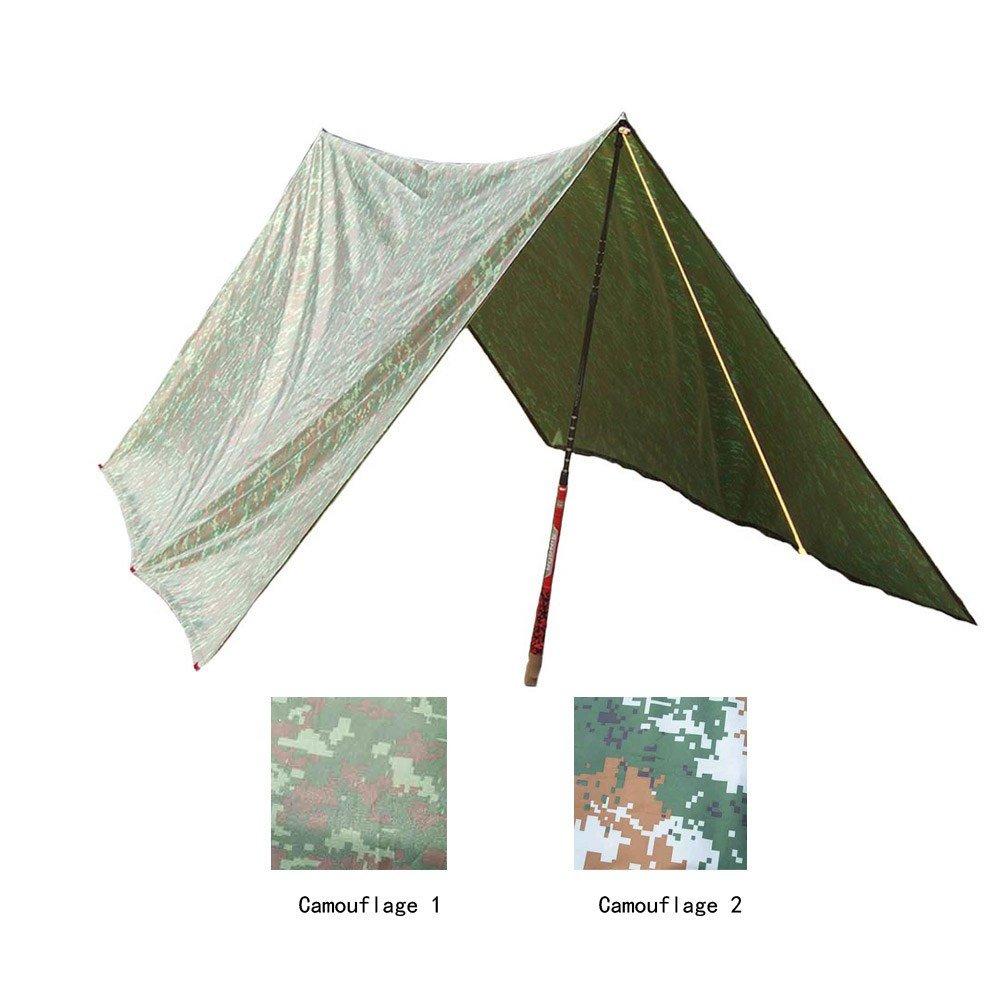 3 x 3 mt Camouflage Campingmatte Markise Camping Zelt Strand Sun Shelter Im Freien Wasserdichte Winddicht Markise Campingmatten Matratze