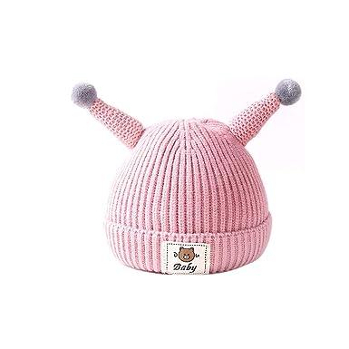 Tcare Niñas Niños Otoño Invierno Cálido Sombreros Gorras de bebé ...