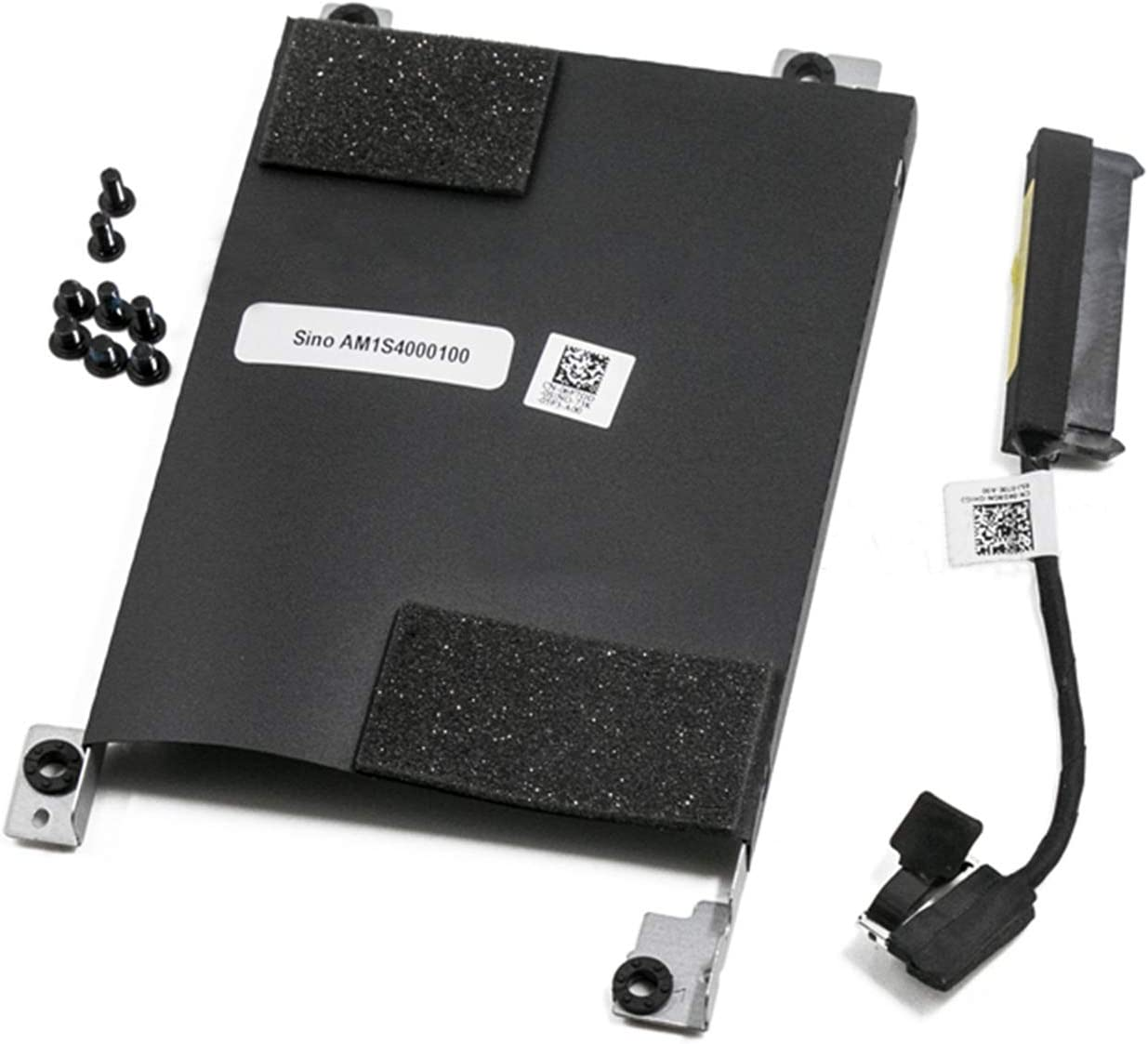 Hard Drive Cable Connector+HDD Caddy Bracket Replacement for Dell Latitude E5580 6F7DD 6NVFT