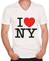 I Love New York NYC Gift Boy :Herren T-shirt,Prominenter foto,Weiß, t shirt herren,Geschenk