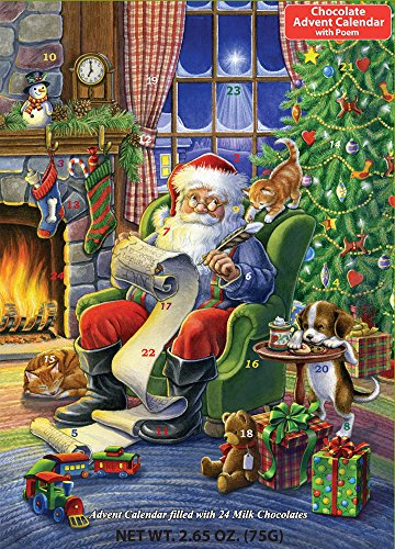 Naughty or Nice Chocolate Advent Calendar (Countdown to -