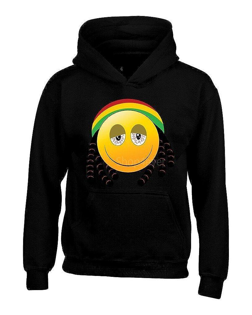 shop4ever ® Emoji Rasta hombre sudaderas con capucha Sudaderas Emoji: Amazon.es: Libros
