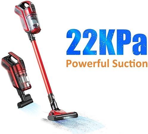 CZDZSWHHH Aspirador sin Cable Aspiradora 22000Pa inalámbrico Recargable for el hogar ciclón Filtro portátil Aspiradora Vertical sin Cable: Amazon.es: Hogar