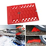 Kangnice Car Escaper Foldable Emergency Tire Traction for Car Safety Snow Mud Sand Rescue