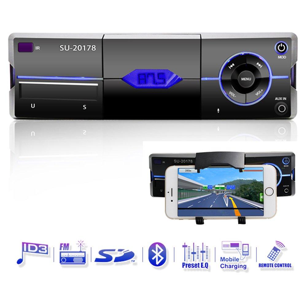 Estéreo del coche con Bluetooth solo dinar el receptor audio del radio