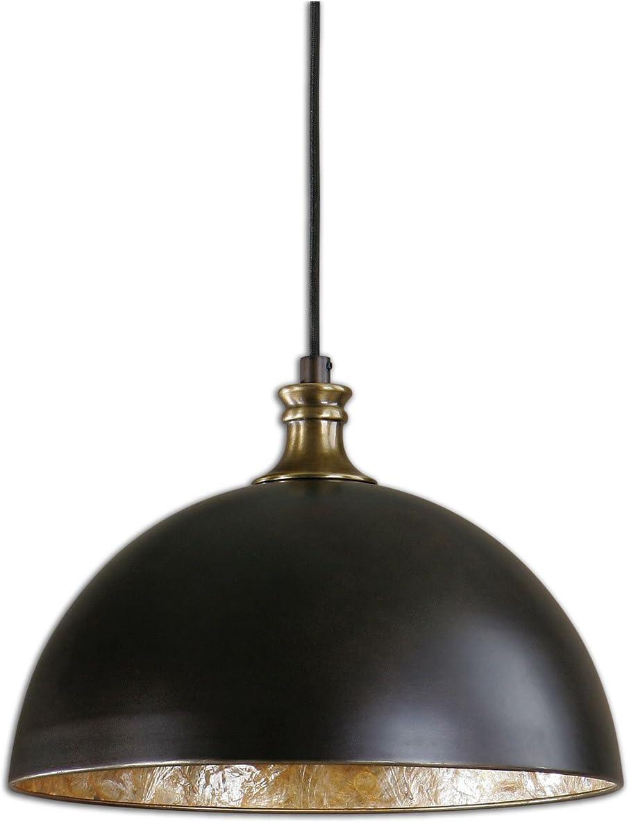 Uttermost, Bronze 22028 Placuna 1 Light Pendant