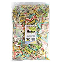 Chimes Ginger Chews Variety Pack - Original, Orange, Mango, Peppermint and Peanut Butter - 5lb Bag