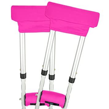 Vive Crutch Pads - Padding for Walking Arm Crutches - Universal Underarm Padded Forearm Handle Pillow