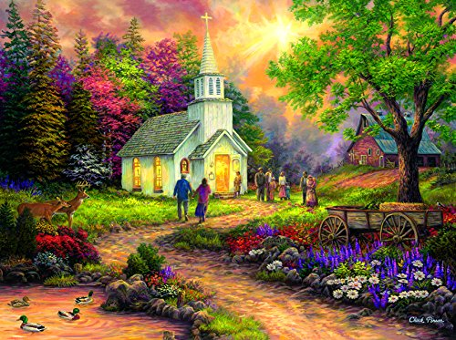 Strength along the Journey 1000 Piece Jigsaw Puzzle by SunsOut