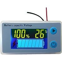 Voltímetro LCD Medidor de capacidad para batería