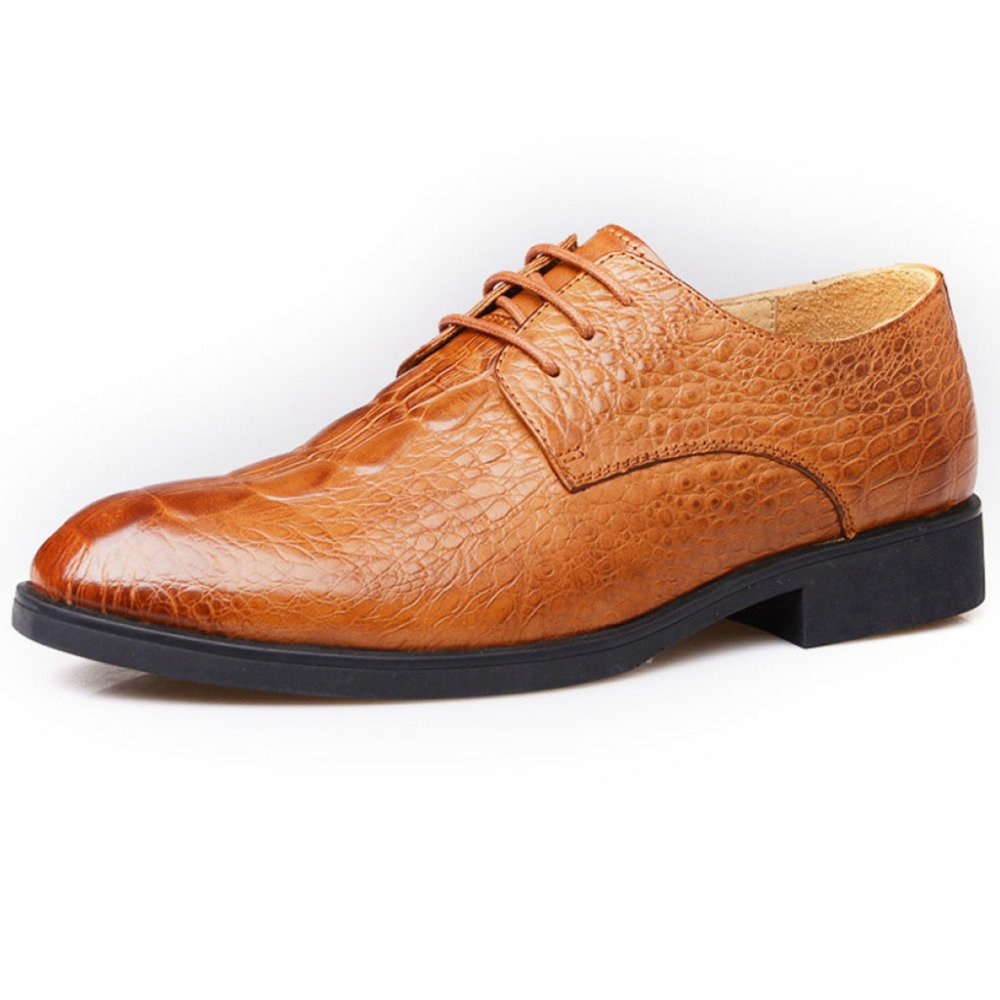 Formale Männliche Klassische Schuh Handgemachte Leder Soled Arbeiten Leder Oxford Fashion Lace-up Spitz Leder Arbeiten Schuhe Braun a39303