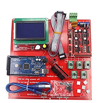 Kit de placa base de impresora 3D RAMPS 1.4 Arduino mega 2560 ...