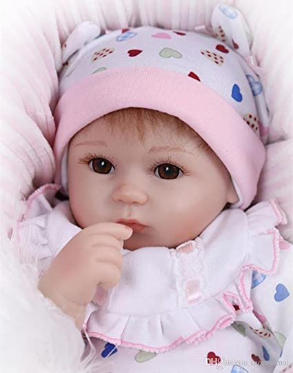 fd61cf8c9b02 Buy My home 16 Silicone Reborn Baby Doll Toys Online at Low Prices in India  - Amazon.in