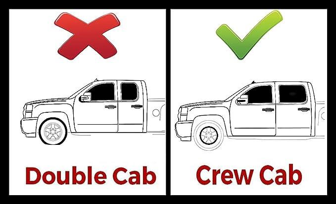 "Chrome 4/"" Oval Curved Tube Side Step Nerf Bar for 01-16 Chevy Silverado Crew Cab"