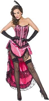 Horror-Shop rosa Burlesque Can-Can de vestuario L: Amazon.es ...