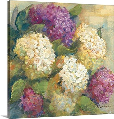 Carol Rowan Premium Thick-Wrap Canvas Wall Art Print entitled Hydrangea Delight II