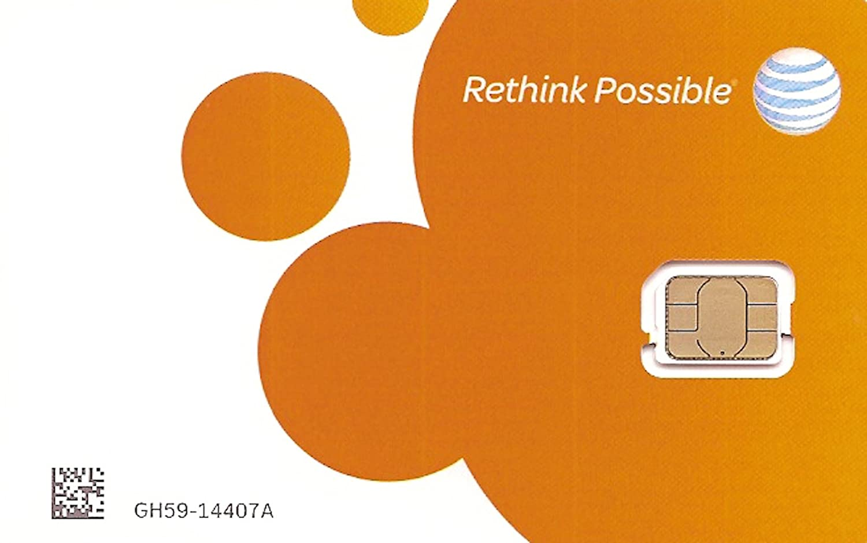 AT&T Micro-SIM 3FF 3G/4G/LTE UICC-G