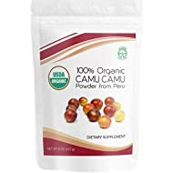 Camu Camu Powder Organic, Raw USDA Certified - 8 Ounce from High Concentrated Pulp - Best Source of Natural Vitamin C - Vegan, Gluten-Free, Non GMO - Fresh Harvest from Peru