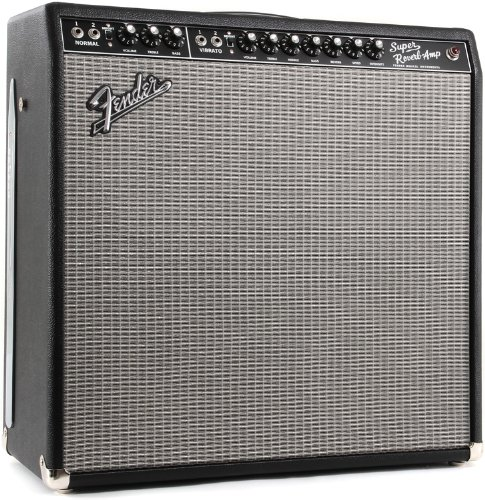 Fender '65 Super Reverb 45-Watt 4x10-Inch Guitar Combo (Tube Guitar Combo Amplifier)