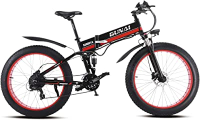 GUNAI Folding Electric Mountain Bike