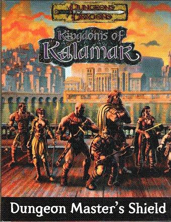 Screen Games Masters (Kingdoms of Kalamar Dungeon Master's Shield)