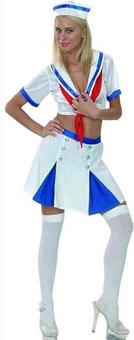 Juguetes Fantasia - Disfraz marinera sexy adulto: Amazon.es: Salud ...