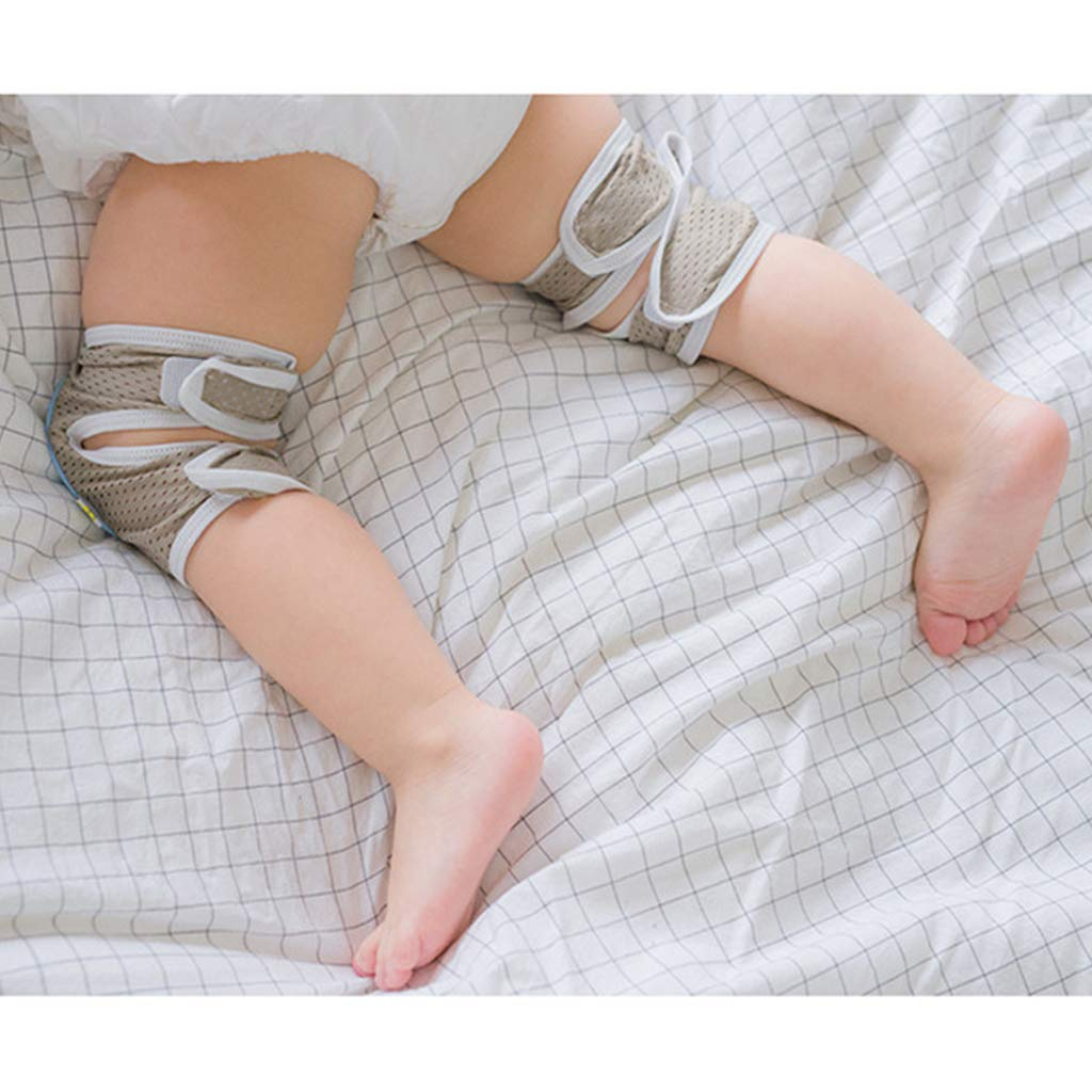 Baby Krabbeln Knieschoner Kleinkind Anti-Rutsch Ellenbogenschoner Doppelter Zweck Sicherheit Schutz 2 St/ück
