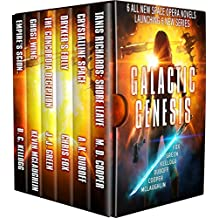 Galactic Genesis: Six All-New Space Opera Tales Launching Six New Series
