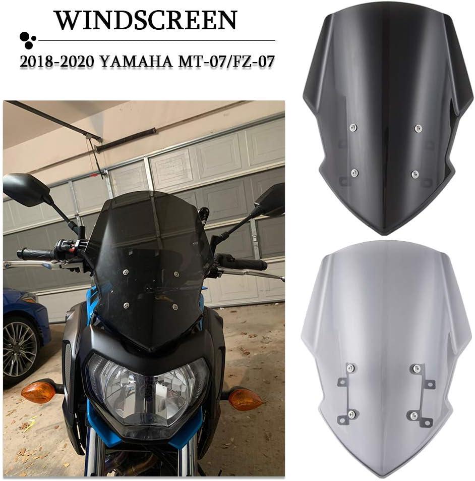 WindshieldOfficial OEM 5D7F83J000P0 Genuine Yamaha MT-125 Smoked Fly Screen
