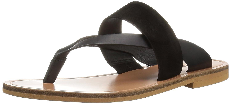 Vince Women's Tess Flat Sandal B01LZC73PM 5 B(M) US|Black