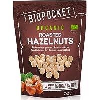 Biopocket - Avellanas ecológicas tostadas, 2 bolsas