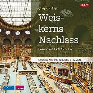 Weiskerns Nachlass Hörbuch