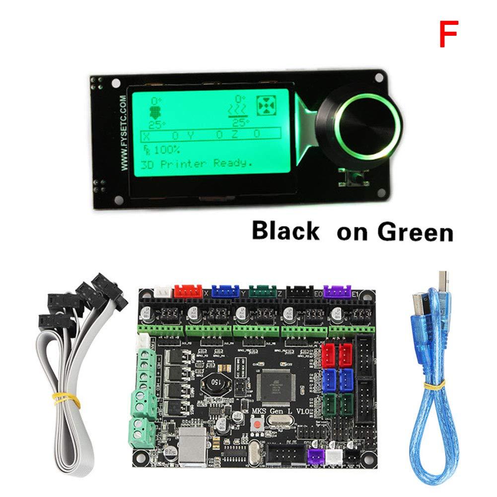 Acreny MKS Gen L MINI12864 - Pantalla LCD para Impresora 3D ...