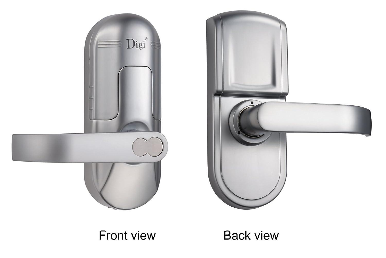 Amazon.com : Digi Electronic Biometric Fingerprint + Keypad Door ...
